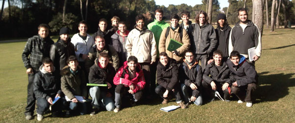 Study trip to the Prat and Costa Brava golf courses
