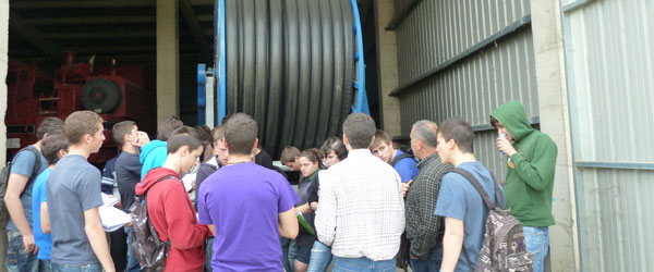 Study visit to different irrigation systems