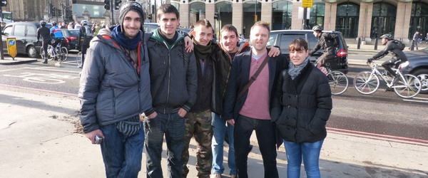 AGS group trip to London.
