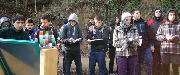 Study visit to the Montseny forests