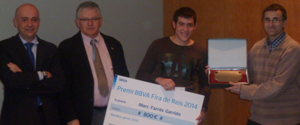 "Marc Farrés Garrido - Winner of the ""Sustainability and Innovation"" prize"