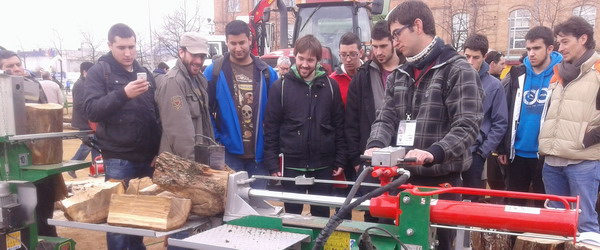 Study visit to the Biomass fair