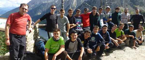 First year forestry course trip to Vall d 'Aran