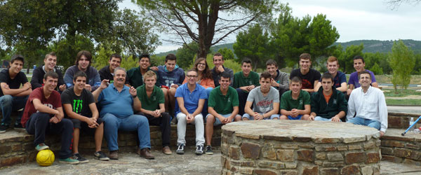 2014 France trip with the pig breeding course students