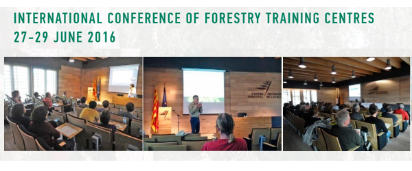 5th International Conference of Forestry Training Centros (Solsona)